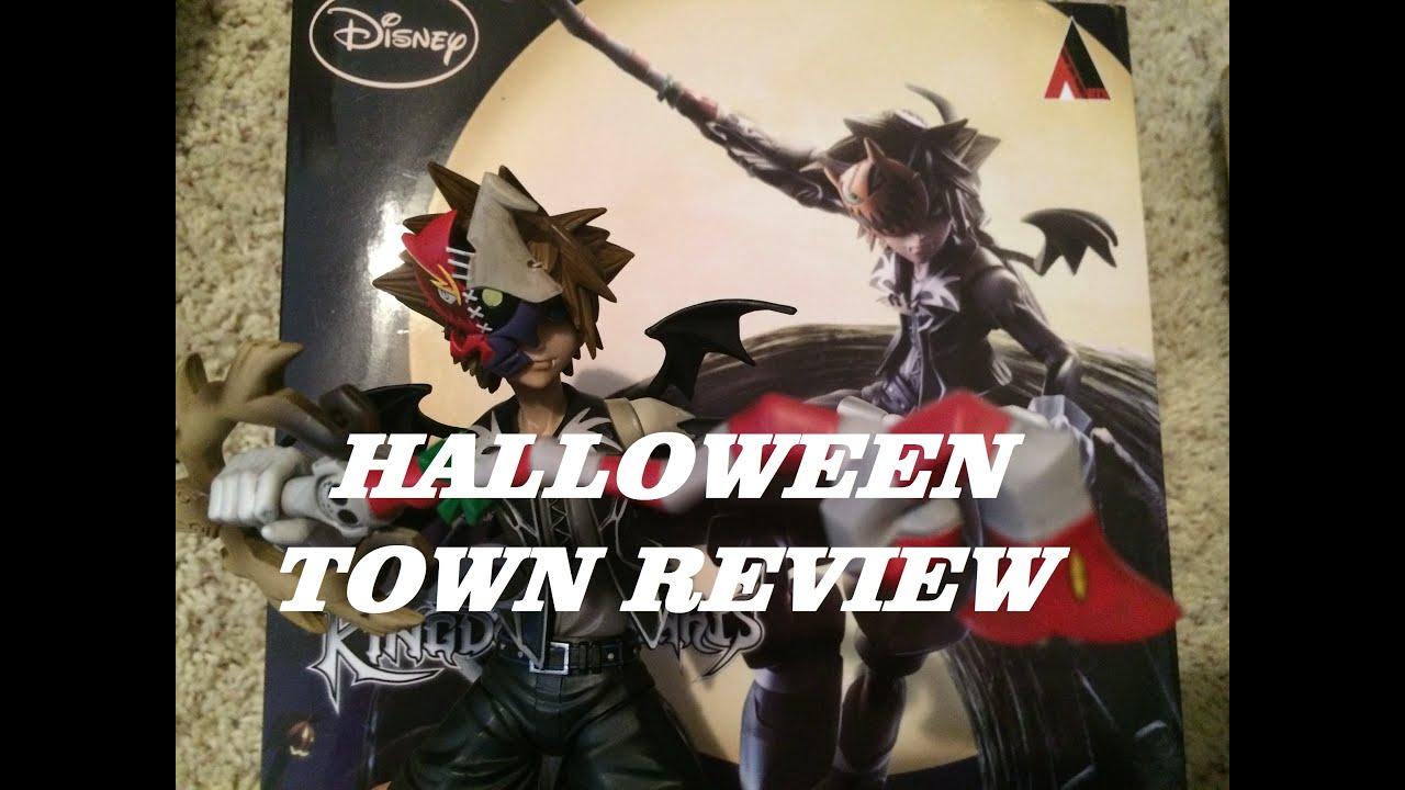 Play Arts Kai Halloween Town Sora Review Kingdom Hearts 2 Figure ...