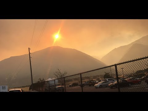 Hundreds evacuated as wildfire burns on 70,000 acres in Utah County