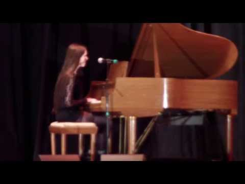 Bolton Central School - Colby performs her cover of Billie Jean