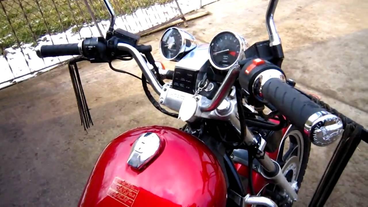 1985 Honda Shadow 700 - YouTube