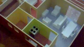 Maqueta Casa Habitacion 1 Recamara 1:25