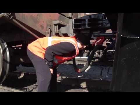 Прицепка локомотива к составу