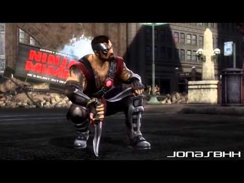Mk 9 комбо всех персов Mortal kombat 9 kombo