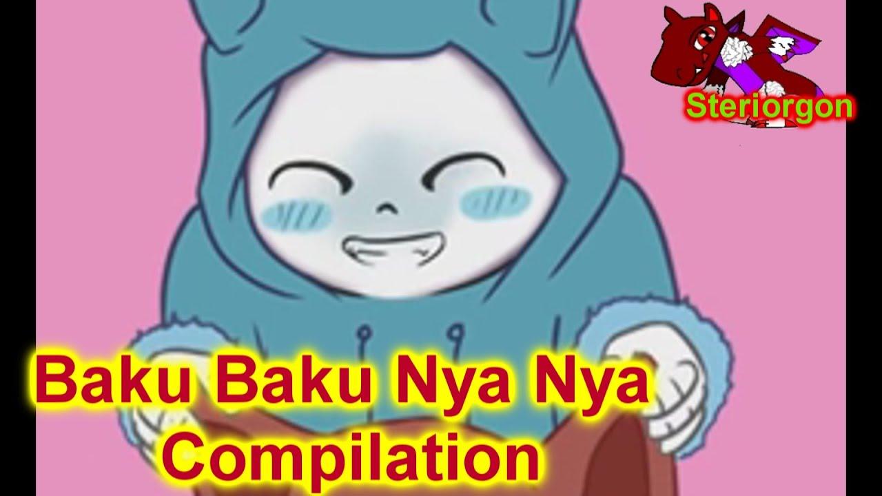 maxresdefault undertale baku baku nya nya animation compilation youtube