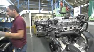 Mercedes-Benz works Untertürkheim, engine production