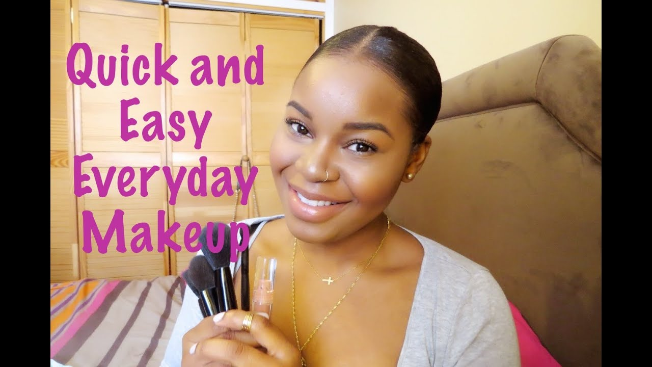Quick easy everyday make up tutorial medium skin tone quick easy everyday make up tutorial medium skin tone youtube baditri Gallery