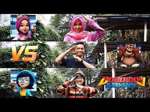 Boboiboy Galaxy - Episode 10 Tepuk Amai-Amai ala Trio Kwek Kwek