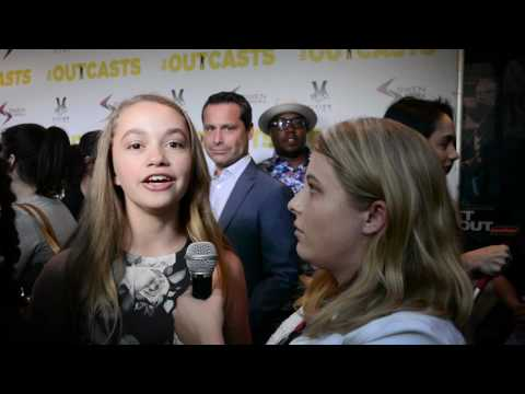 Jillian Shea Spaeder Interview at The Outcasts Movie Premiere
