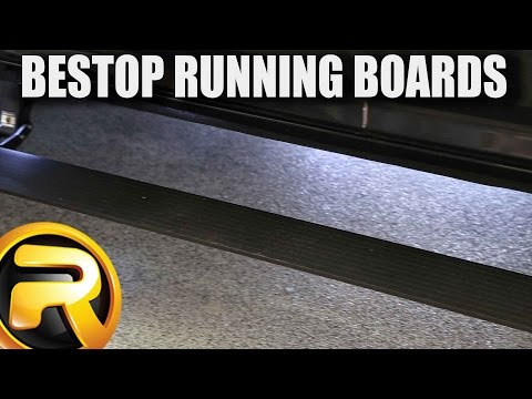 How to Install Bestop NX Wireless Power Running Boards