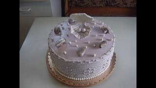 Торт на жемчужную свадьбу. Часть 1.