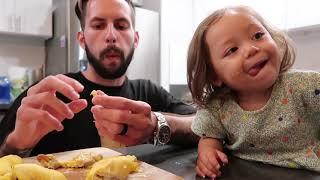 Vlog 746 ll Em Rể Mỹ  Ăn SẦU RIÊNG Chuyên Nghiệp Hơn Người Châu Á. Musang King Durian Eating