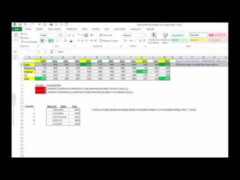 Video 00140 Get Address for Largest Value