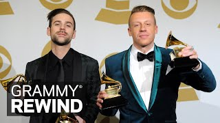 Watch Macklemore & Ryan Lewis Win Best New Artist In 2014 | GRAMMY Rewind