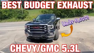 Top 6 BEST BUDGET EXHAUST SET UPS for GMC/CHEVY 5.3L V8!