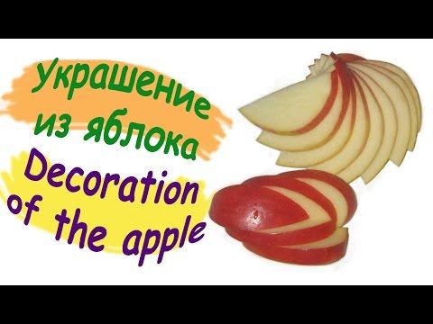 Оформление блюд и нарезка овощей и фруктов