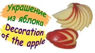 Как красиво нарезать яблоко / How beautifully sliced apples(Подробный пошаговый мастер-класс по нарезанию яблока Detailed step by step wizard-class cutting apple Адрес видео https://youtu.be/ttpaiO7a..., 2015-12-20T10:21:15.000Z)