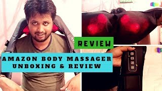 Body Massager Unboxing & review|Dr Trust Physio (USA) Electric Heat Shiatsu Machine|Amazon