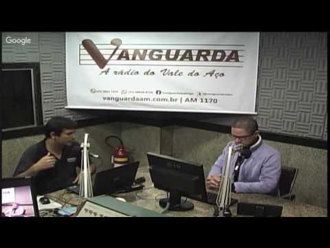 FUTEBOL TOTAL AO VIVO PELA RADIO VANGUARDA DE IPATINGA COM LUIZ CARLOS VIDEIRA E RONALDO ANTÔNIO