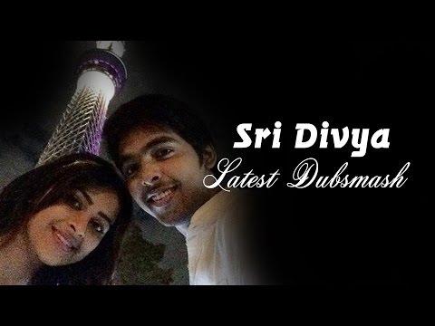 Actress Sri Divya Dubsmash |  Tamil Actor and Actress Dubsmash | Funny Videos Tamil