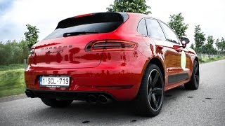 2016 Porsche Macan GTS - Accelerations & Exhaust SOUNDS!
