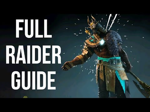 [For Honor] FULL RAIDER GUIDE - Basics/Combos/Mix Ups & More