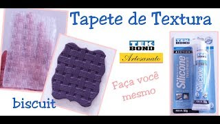 Como fazer tapete de textura para biscuit  (caseiro)