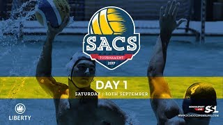 SACS Waterpolo Tournament, Saturday 30th September 2017, Day 1