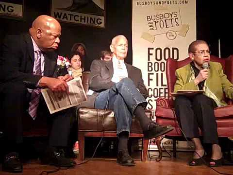 CIVIL RIGHTS LEADERS:  ELEANOR HOLMES NORTON, JULIAN BOND & JOHN LEWIS - PART 8