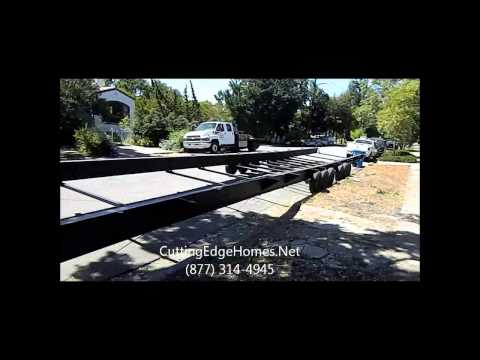 Silicon Valley Modular Home Delivery and Installation 2012