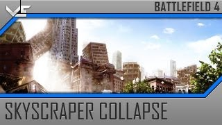 Battlefield 4 Alpha Skyscraper Collapse On Tank Gameplay (PC Max Settings)