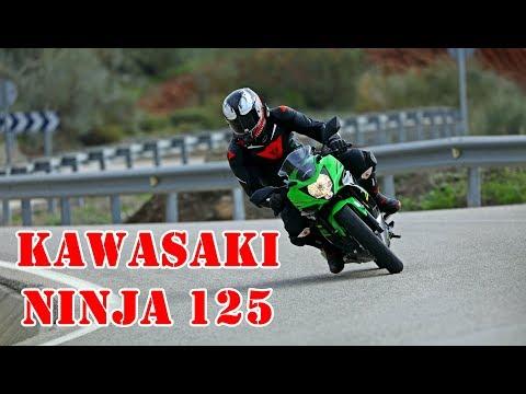 ERSTE FAHRT mit der KAWASAKI NINJA 125