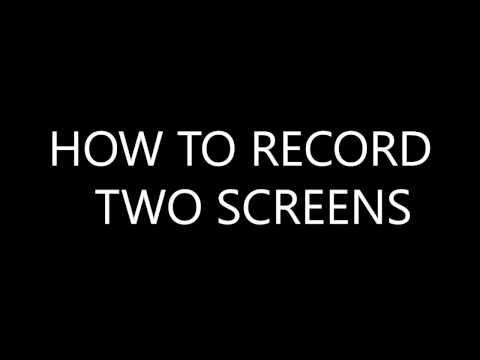 How to record 2 monitors / screens [OBS  STUDIO]