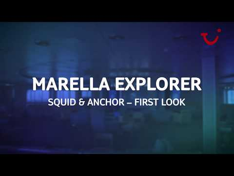 Onboard Marella Explorer  Squid and Anchor