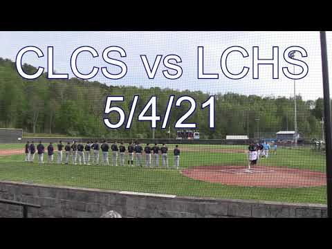 Cross Lanes Christian School Warriors vs Lincoln County Panthers (HS Baseball) 5/4/21
