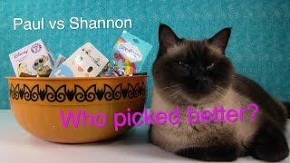 Paul vs Shannon Mystery Blind Bag Picks Episode 1 Shopkins Disney | PSToyReviews