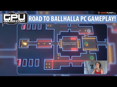 let's play Road to Ballhalla!  