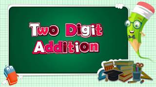 addition   two digit addition   how to add two digit number