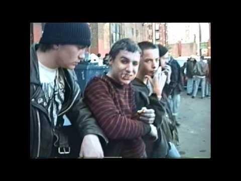 punks outside The Rat