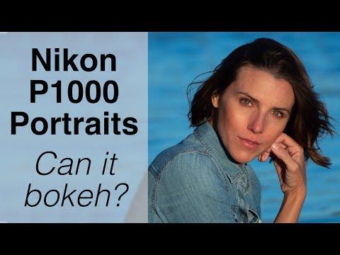 Nikon P1000 for Portraits - Can it Bokeh?