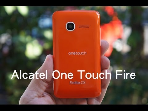 Alcatel One Touch Fire hands-on - FirefoxHellas.gr