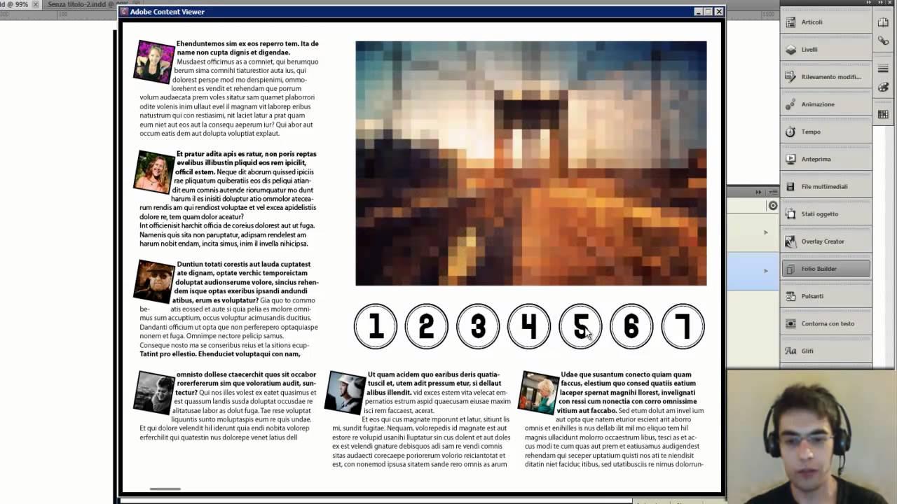 Riviste digitali per ipad con indesign le presentazioni for Riviste design
