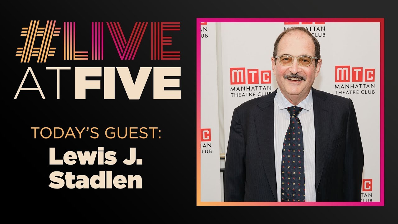 Broadway.com #LiveatFive with Lewis J. Stadlen of the HELLO, DOLLY! National Tour