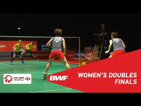 F | WD | FUKUSHIMA/HIROTA (JPN) [1] vs POLII/RAHAYU (INA) [4] | BWF 2019