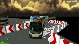 mm2 遊車河 563 kmb volvo b9tl avbwu wright mk2 body pe3529 in driver test city