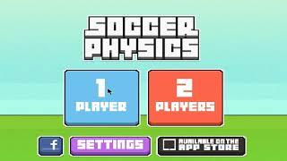 Um dos melhores jogos de futebol!!! Ou nao? - Soccer Physics