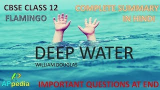 Complete summary of Deep Water with all the important question and ...