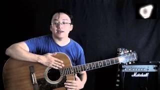 Bài 1: Giới thiệu cây đàn guitar -  học guitar căn bản  cho người mới bắt đầu