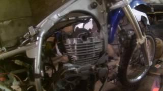 Стук в двигателе мотоцикла Форсаж 300 (причина)