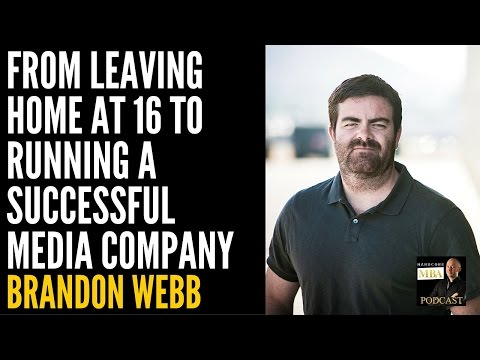 From Leaving Home at 16 to Running a Successful Media Company with Brandon Webb