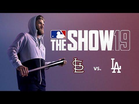 MLB The Show 19: 8/7/2019 - STL vs. LAD **Game 117**